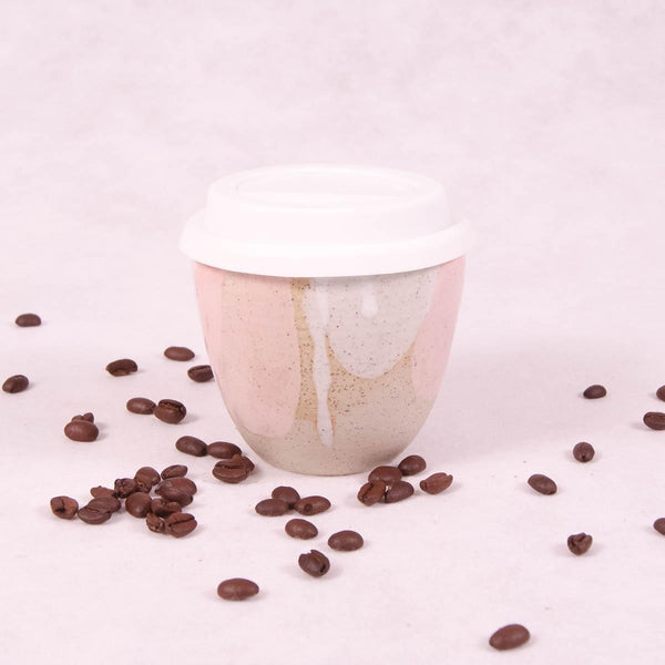Ceramic Travel Cup Small - Gelato - Travel Cup - Throw Some Seeds - Australian gardening gifts and eco products online!
