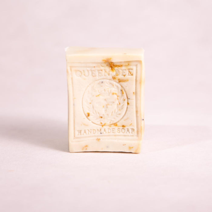 Clary Sage, Rose Geranium & Lavender Block Soap - 170g approx - Block Soap - Throw Some Seeds