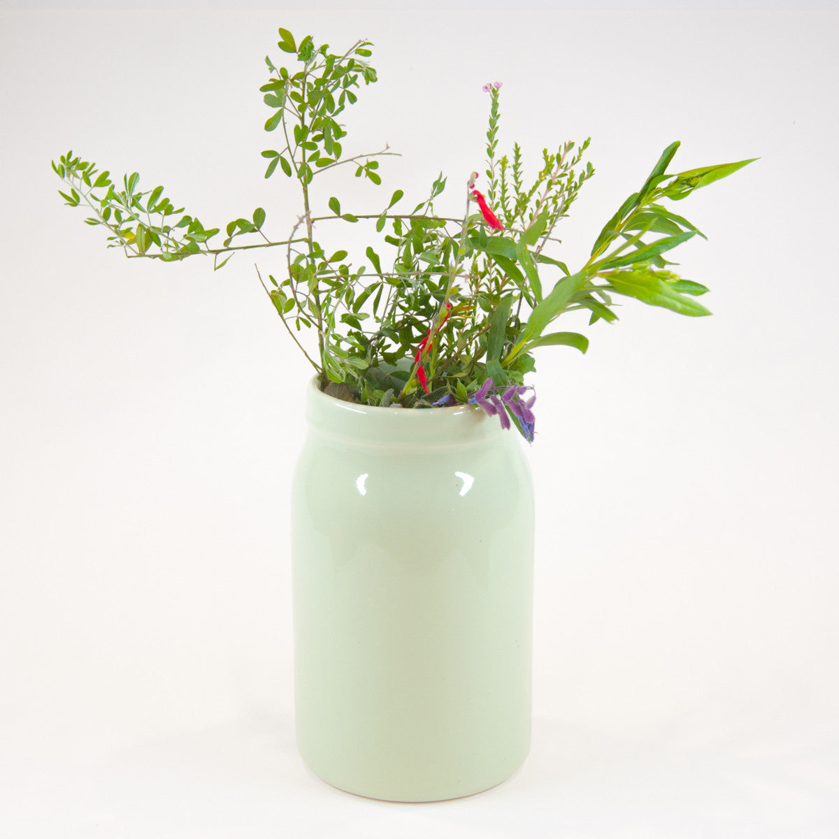 Large Ceramic Vase - Glazed (Assorted Colours!) - Vase - Throw Some Seeds - Nature Inspired Gifts for the Home & Garden