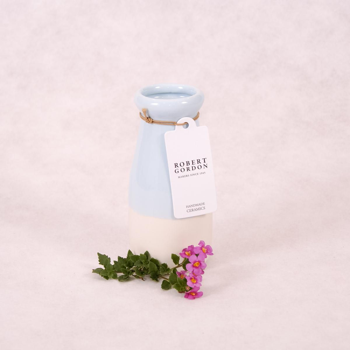 Milk Bottle Vase - Dipped (Assorted Colours!) - Vase - Throw Some Seeds - Australian gardening gifts and eco products online!