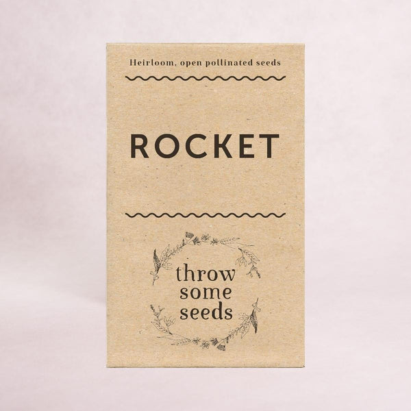 Rocket Seeds - Seeds - Throw Some Seeds - Australian gardening gifts and eco products online!