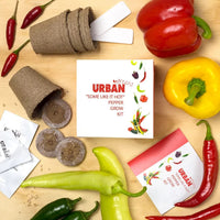 Some Like it Hot Growing Kit | Urban Greens - Growing Kit - Throw Some Seeds - Australian gardening gifts and eco products online!