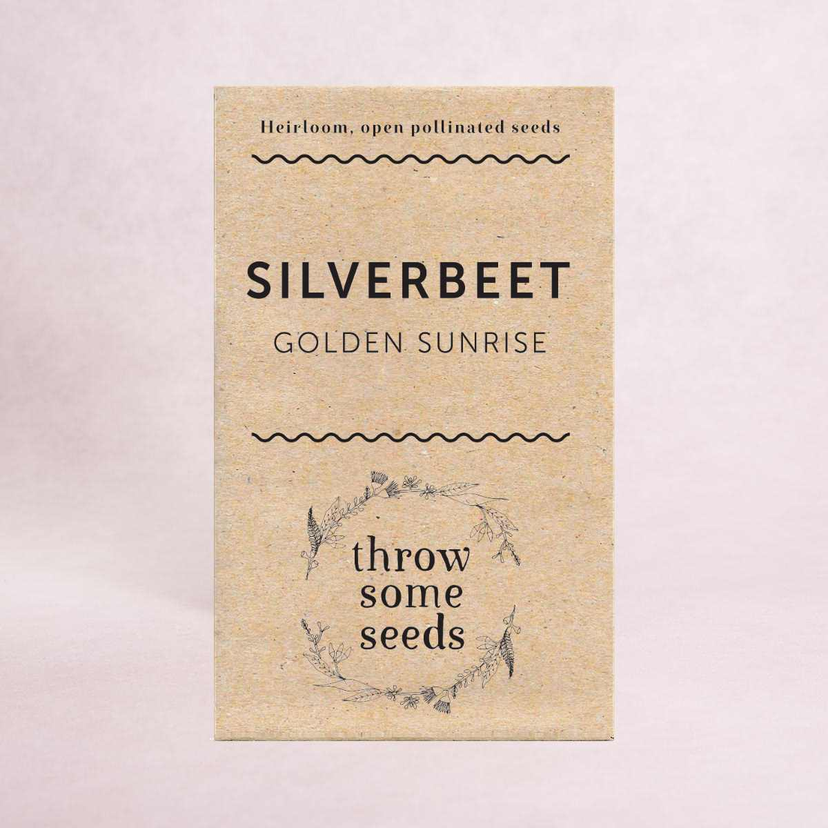 Silverbeet (Golden Sunrise) Seeds - Seeds - Throw Some Seeds - Australian gardening gifts and eco products online!