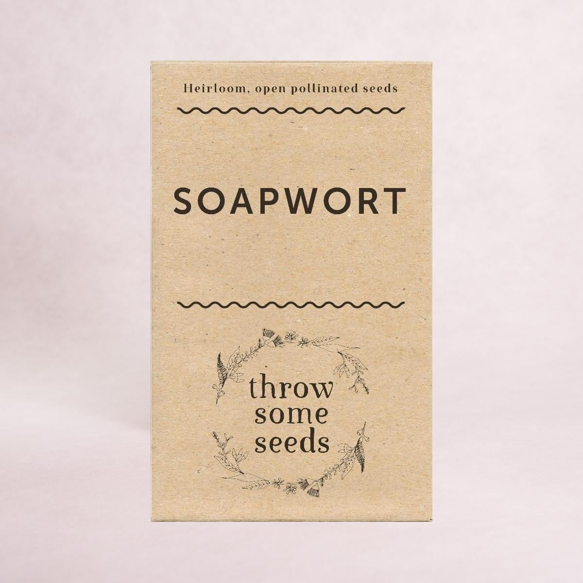 Soapwort Seeds - Seeds - Throw Some Seeds - Australian gardening gifts and eco products online!