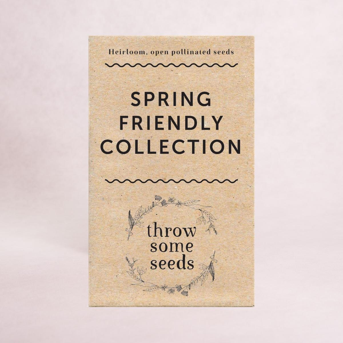 Spring Friendly Collection Seeds - Seed Collections - Throw Some Seeds - Australian gardening gifts and eco products online!