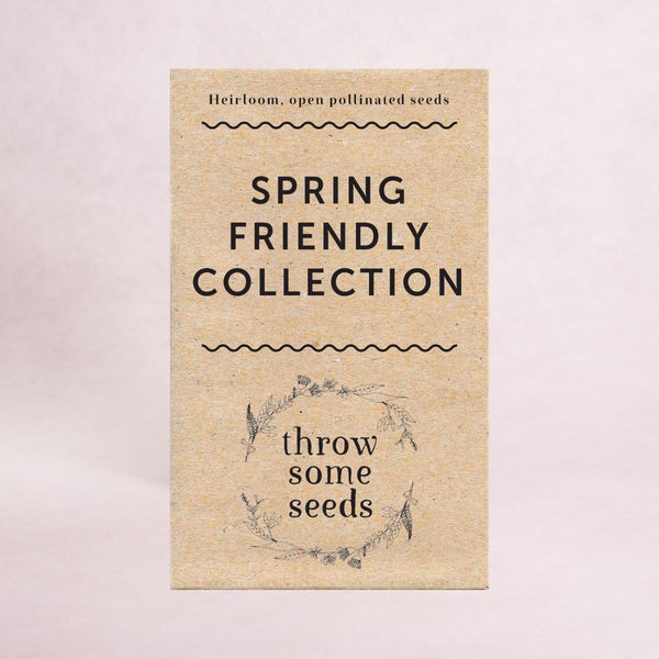 Spring Friendly Collection Seeds - Seed Collections - Throw Some Seeds - Nature Inspired Gifts for the Home & Garden