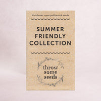 Summer Friendly Collection Seeds - Seed Collections - Throw Some Seeds - Australian gardening gifts and eco products online!