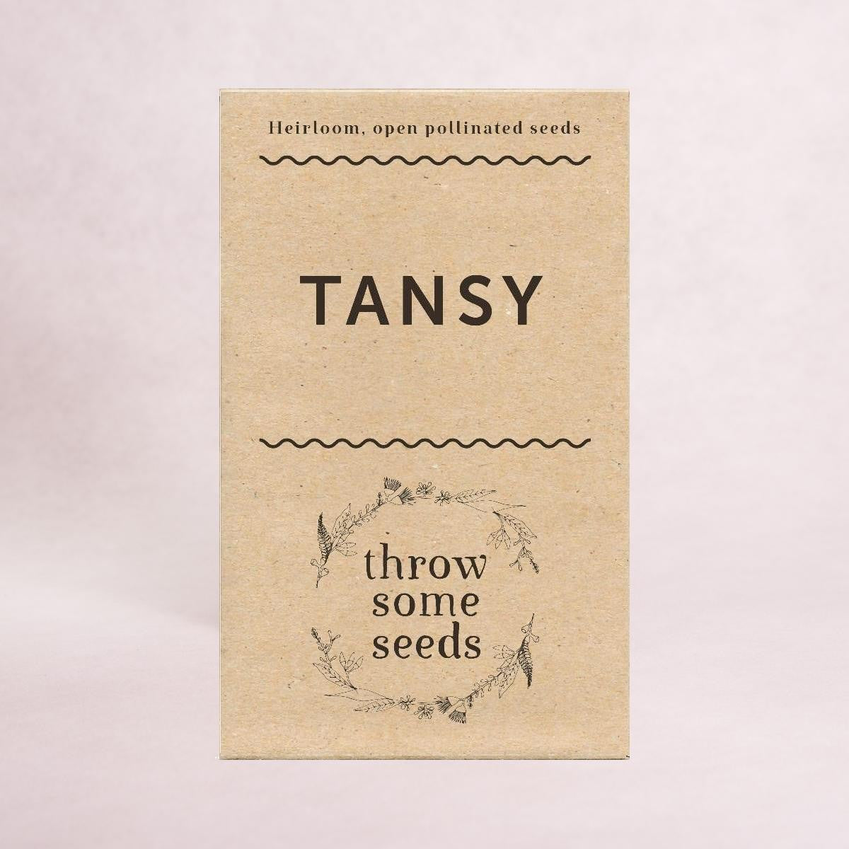Tansy - Heirloom Seeds - Throw Some Seeds