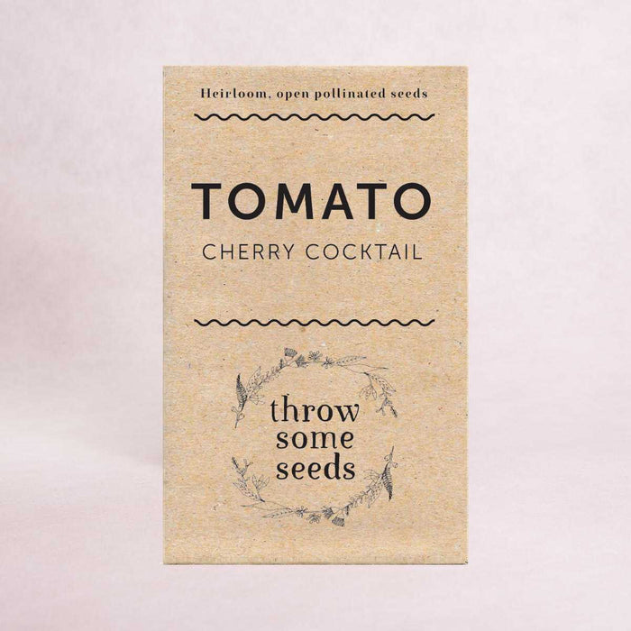 Tomato (Cherry Cocktail) Seeds - Seeds - Throw Some Seeds - Australian gardening gifts and eco products online!