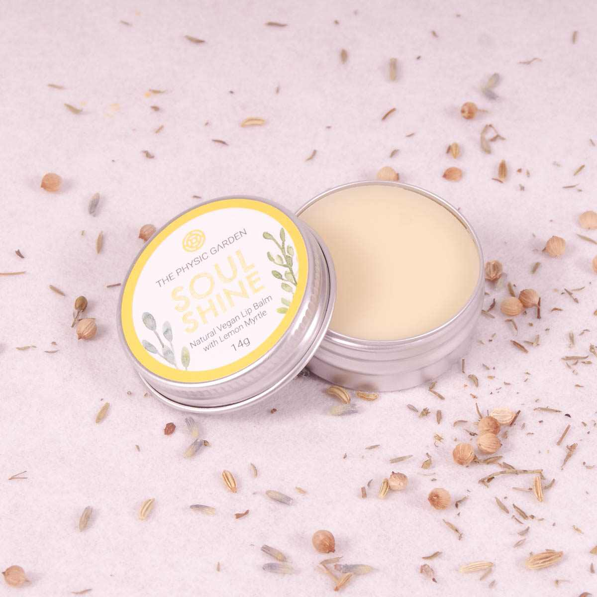 The Physic Garden 'Soul Shine' Lip Balm - 14gm - Lip Balm - Throw Some Seeds - Australian gardening gifts and eco products online!