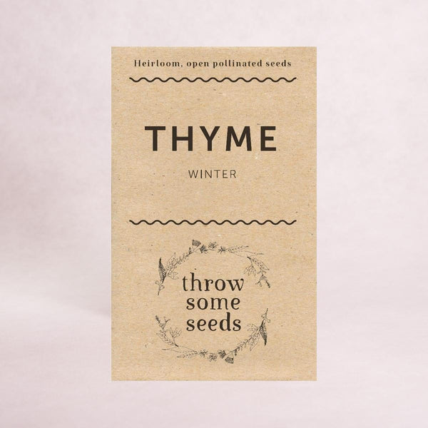 Thyme (Winter) Seeds - Seeds - Throw Some Seeds - Australian gardening gifts and eco products online!