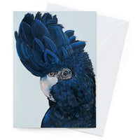 Vixen Designs Card – Black Cocky Henry - Card - Throw Some Seeds - Australian gardening gifts and eco products online!