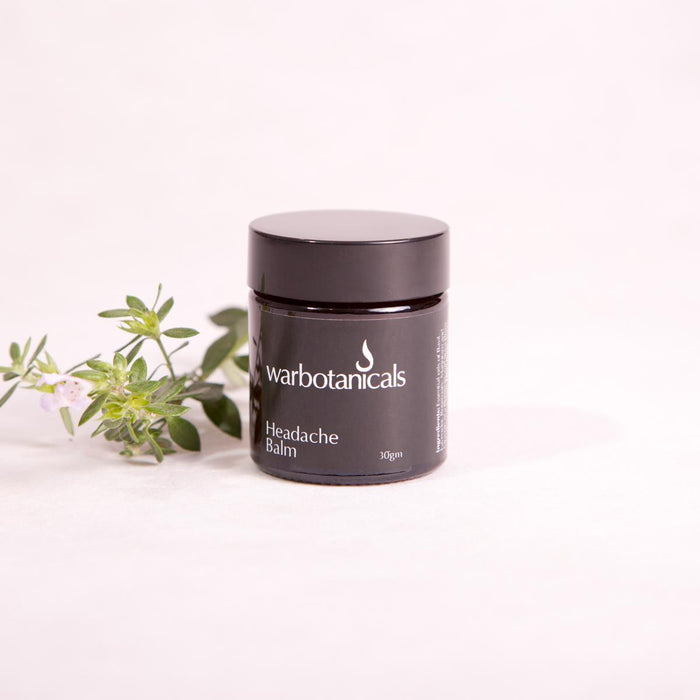 Headache Balm - 30gm - Headache Balm - Throw Some Seeds - Australian gardening gifts and eco products online!