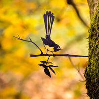 Metalbird - Willie Wagtail - Metalbird - Throw Some Seeds - Australian gardening gifts and eco products online!