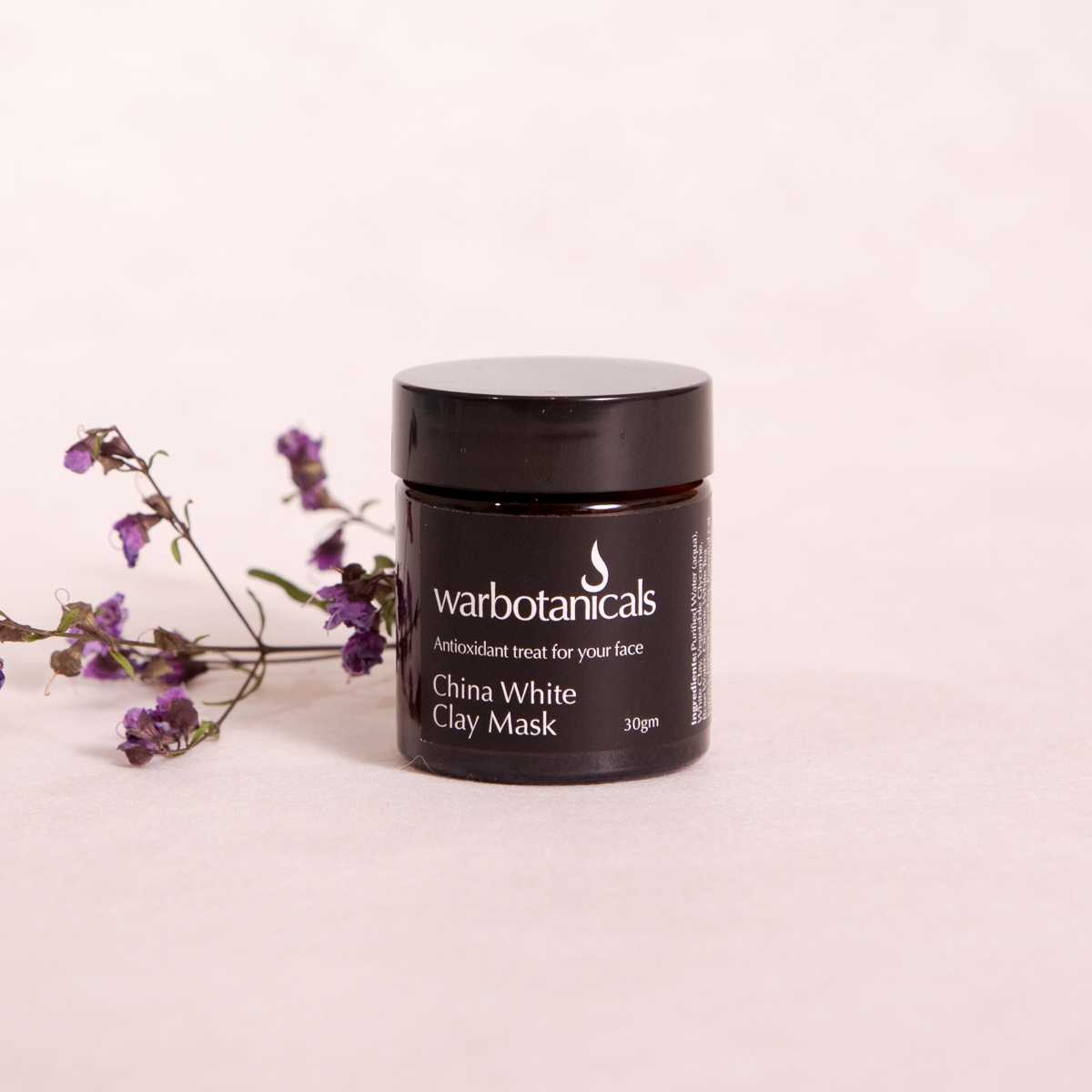 China White Clay Mask - 30gm - Clay Mask - Throw Some Seeds - Australian gardening gifts and eco products online!