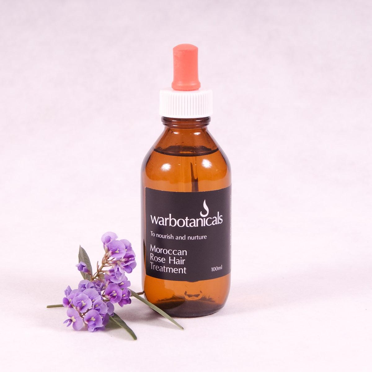 Moroccan Rose Hair Treatment - 100ml - Hair Oil - Throw Some Seeds - Australian gardening gifts and eco products online!