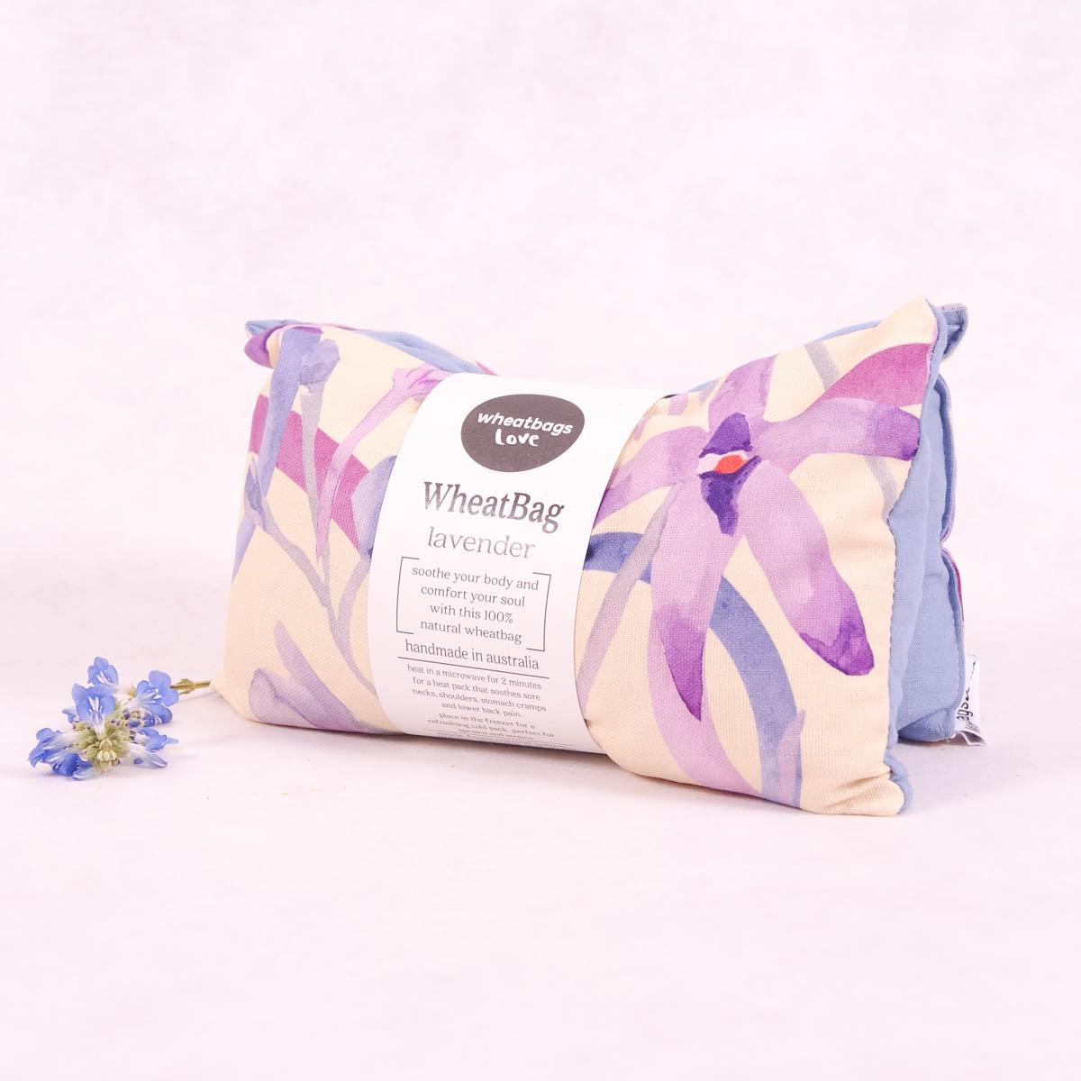 Wheatbags Love Heat Pack - Bush Orchid - Heat Pack - Throw Some Seeds - Australian gardening gifts and eco products online!