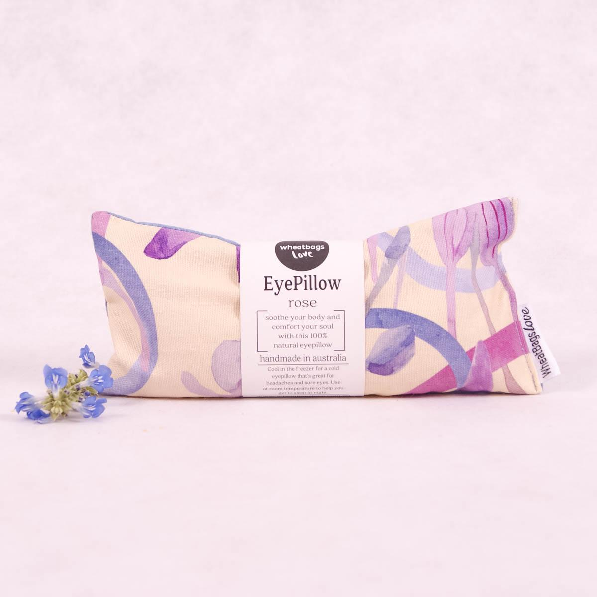 Wheatbags Love Eyepillow - Bush Orchid - Eyepillow - Throw Some Seeds - Australian gardening gifts and eco products online!