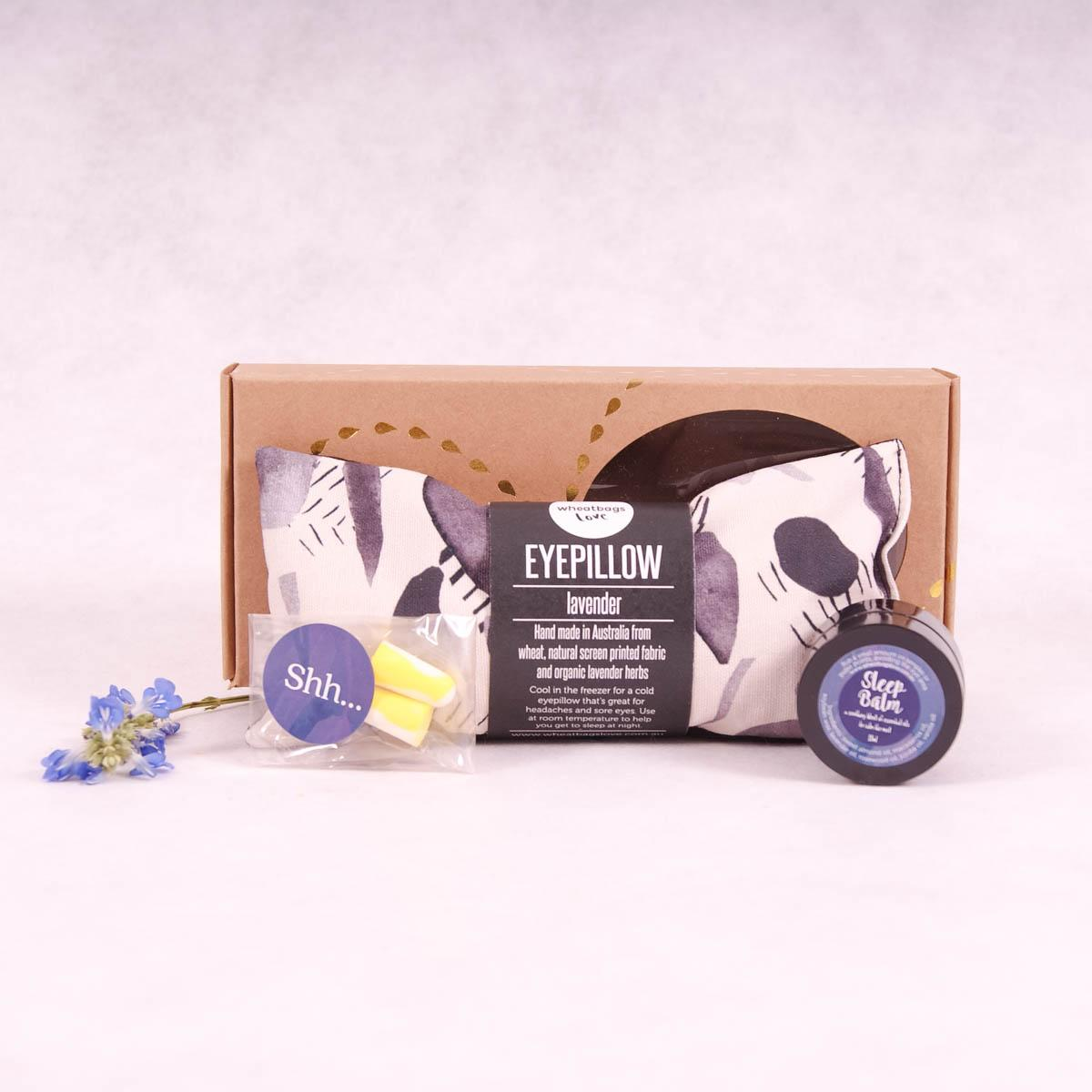 Wheatbags Love Sleep Gift Pack - Daintree Black - Sleep Gift Pack - Throw Some Seeds - Australian gardening gifts and eco products online!