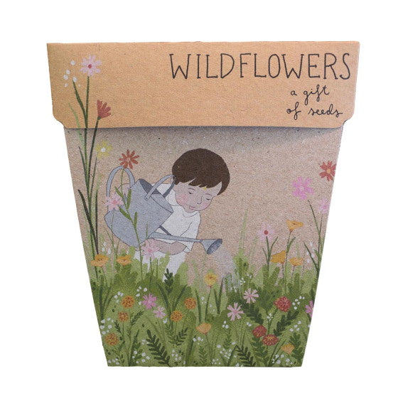 Sow 'n Sow Gift Card with Seeds - Wildflowers