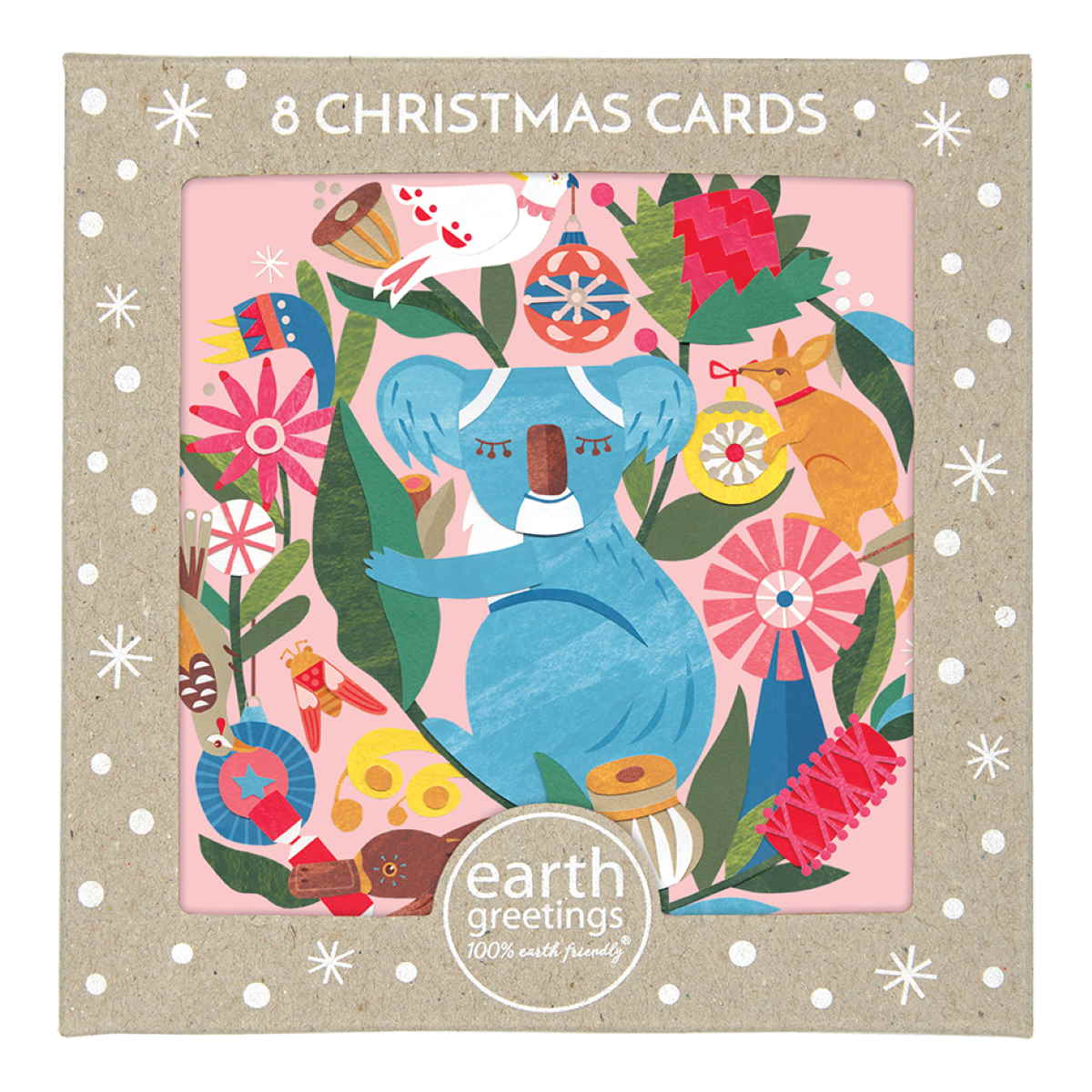 Boxed Christmas Cards 'Circle of Friends' - Pack of 8