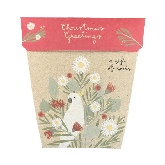 Sow 'n Sow Gift Card with Seeds - Australian Christmas