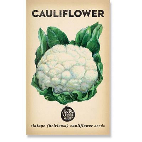 Cauliflower (Snowball) Heirloom Seeds - Seeds - Throw Some Seeds - Australian gardening gifts and eco products online!