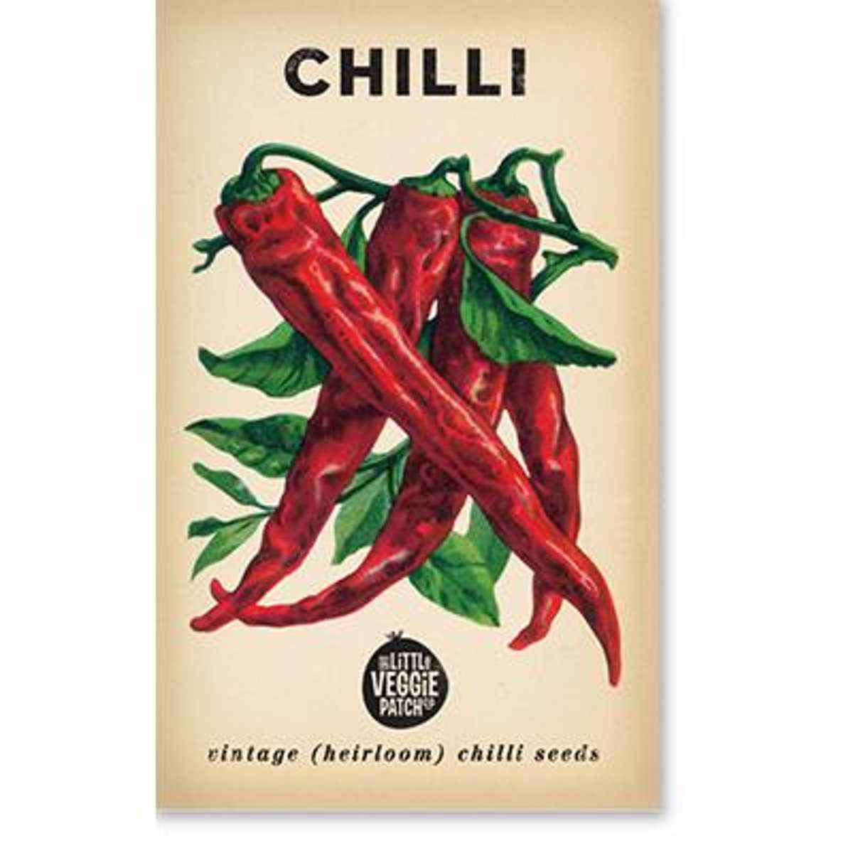 Chilli (Cayenne) Heirloom Seeds - Seeds - Throw Some Seeds - Australian gardening gifts and eco products online!