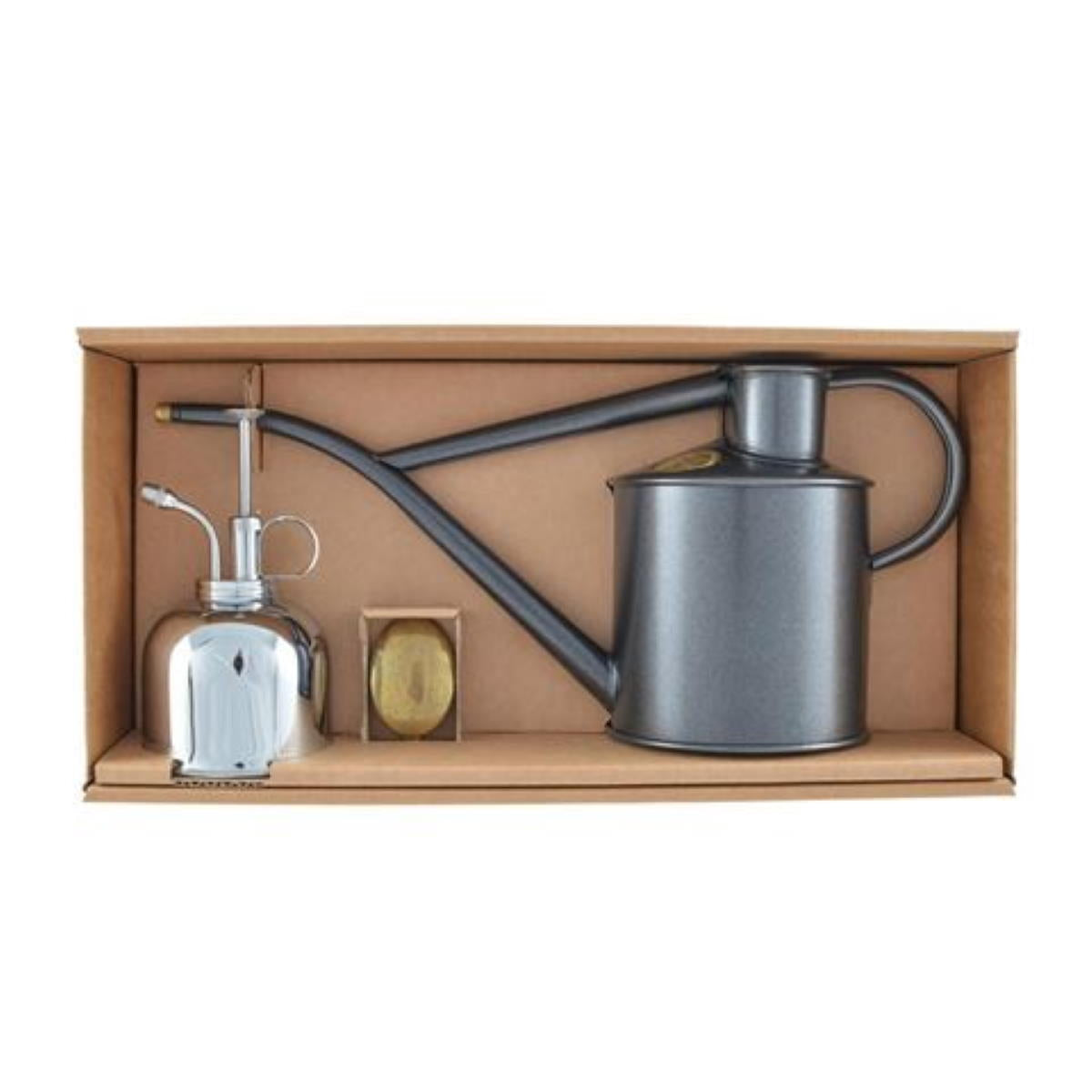 Haws Classic Watering Set - Graphite & Nickel