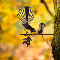 Metalbird - Fantail with Baby - Metalbird - Throw Some Seeds - Australian gardening gifts and eco products online!