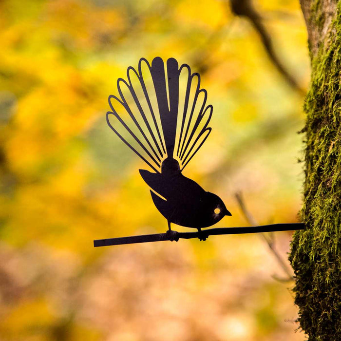 Metalbird - Fantail - Metalbird - Throw Some Seeds - Australian gardening gifts and eco products online!
