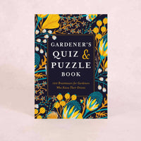 Gardener's Quiz and Puzzle Book | By Gareth Moore and Simon Akeroyd
