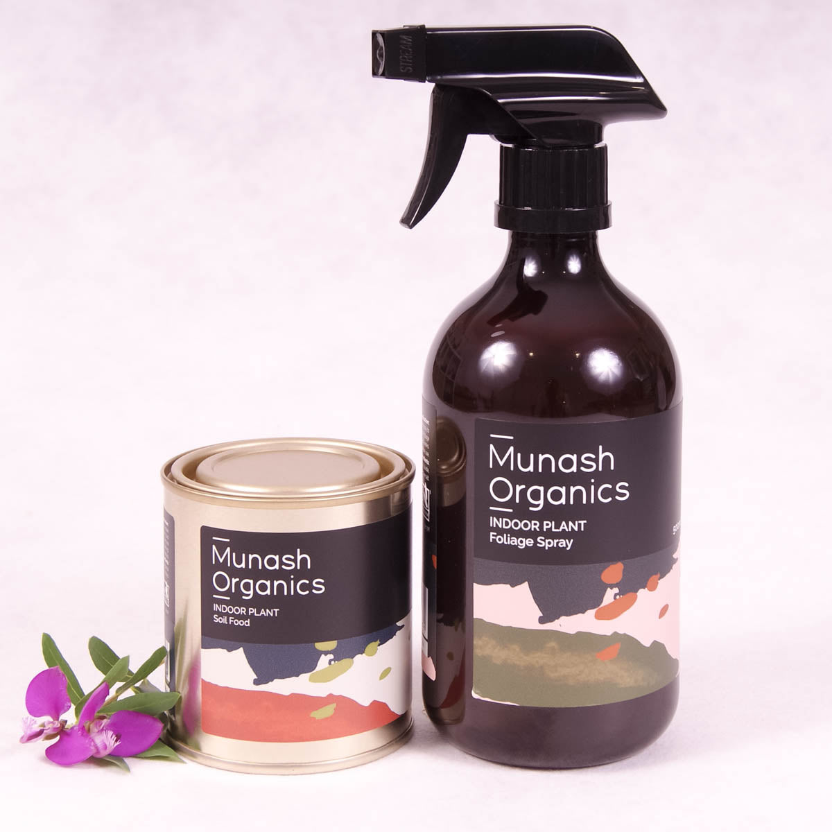 Indoor Plant Care Bundle By Munash Organics - Plant Food - Throw Some Seeds - Australian gardening gifts and eco products online!