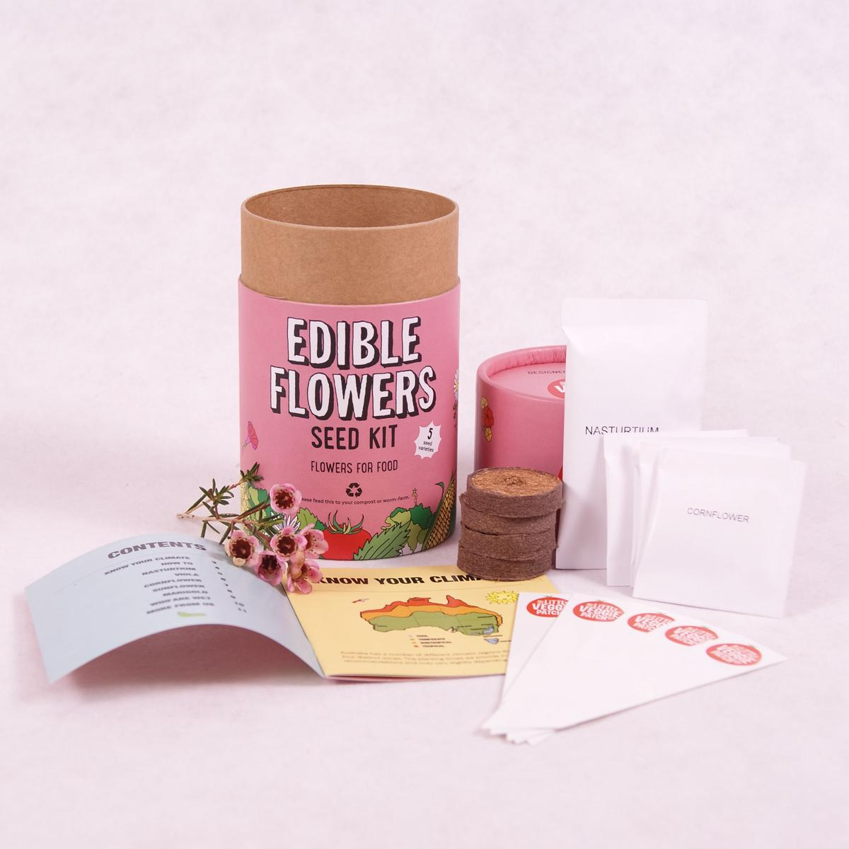 Kids Seed Kit - Growing Kit - Throw Some Seeds - Australian gardening gifts and eco products online!