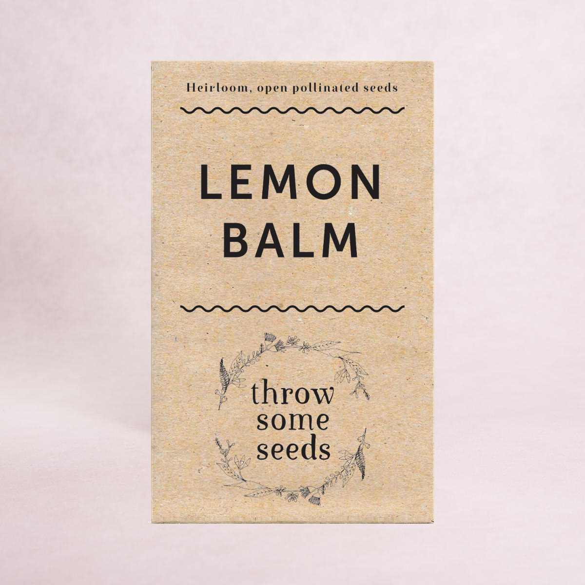 Lemon Balm Seeds - Seeds - Throw Some Seeds - Australian gardening gifts and eco products online!