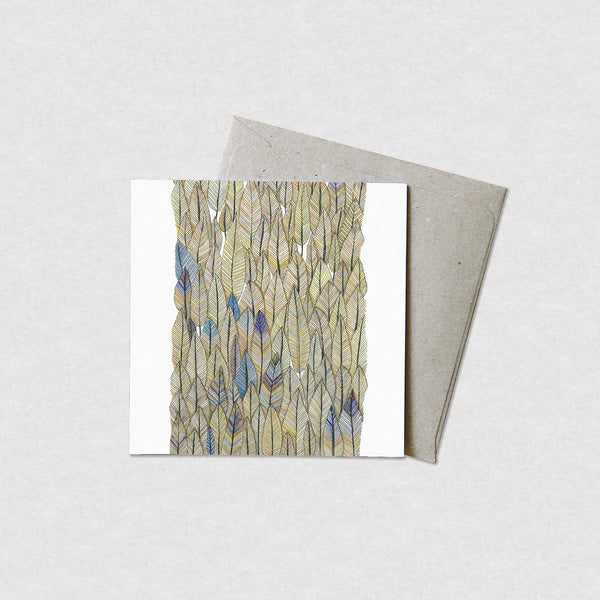 Natalie Martin Card - Check Out My Feather Collection - Cards - Throw Some Seeds - Australian gardening gifts and eco products online!