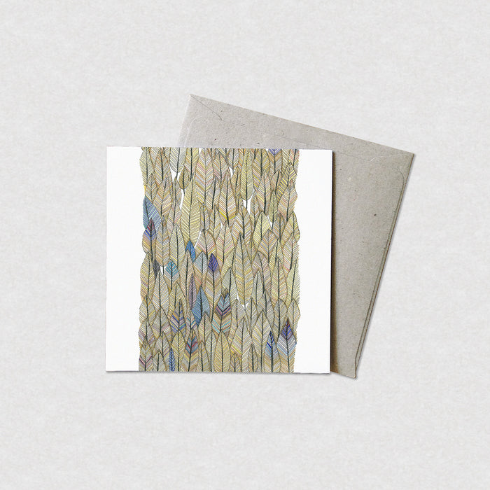 Natalie Martin Card - Check Out My Feather Collection - Cards - Throw Some Seeds
