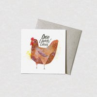 Natalie Martin Card - Good Lookin' Chook - Cards - Throw Some Seeds