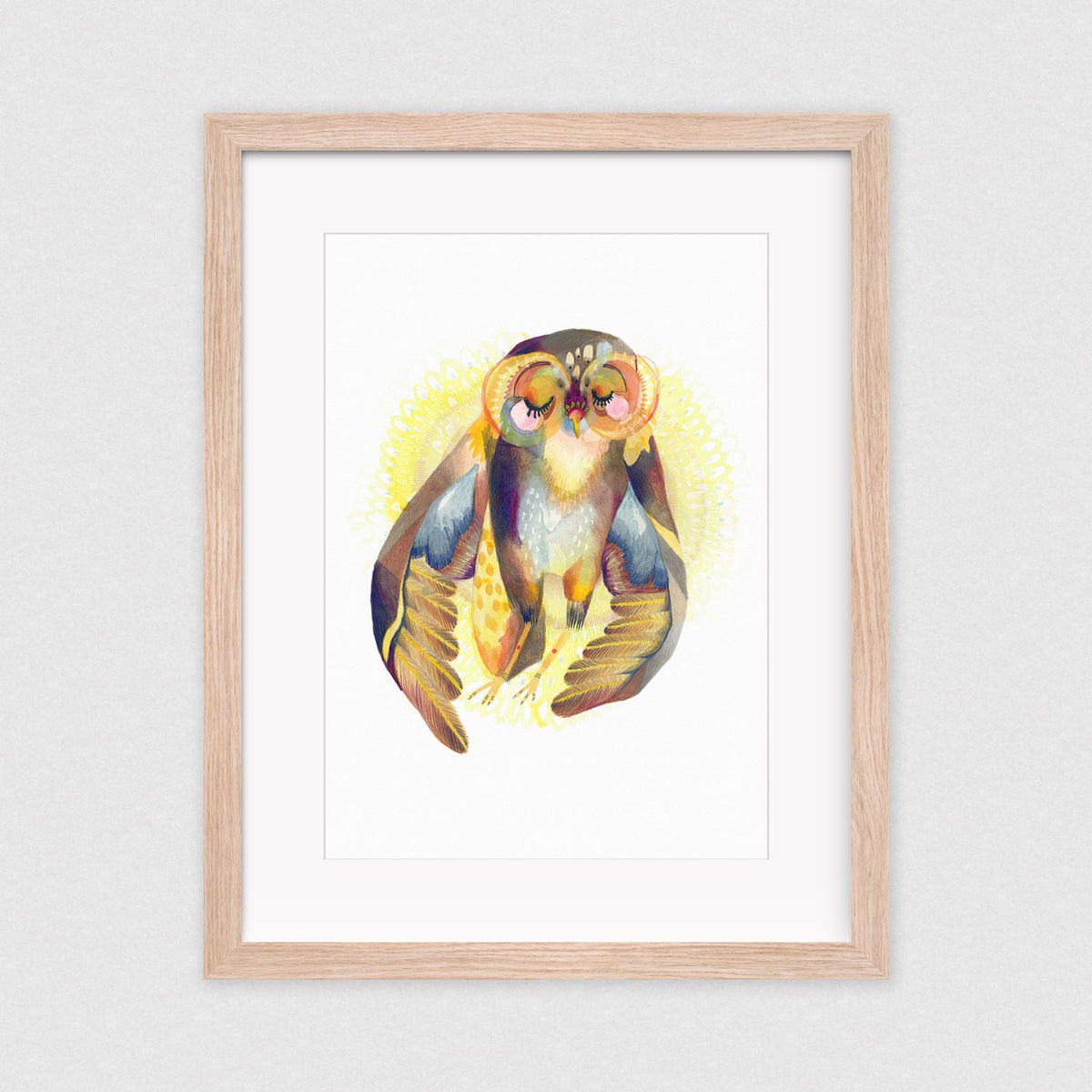 Let the Sun Shine In - Framed Limited Edition Print | by Natalie Martin - Framed Prints - Throw Some Seeds - Australian gardening gifts and eco products online!