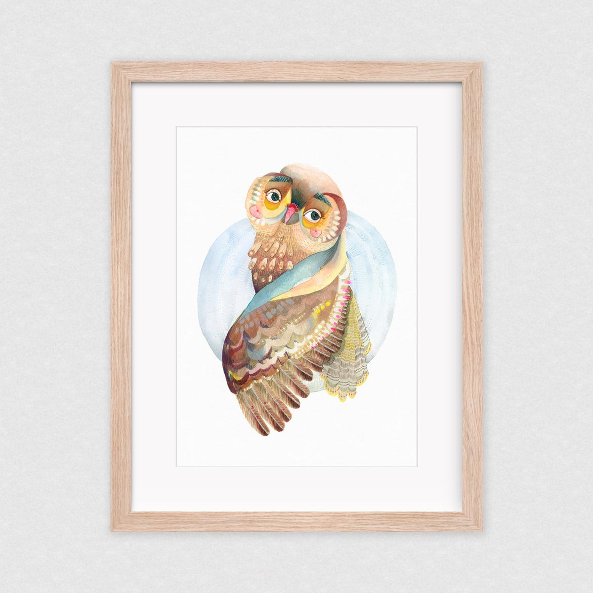 Total Flirt - Framed Limited Edition Print | by Natalie Martin - Framed Prints - Throw Some Seeds