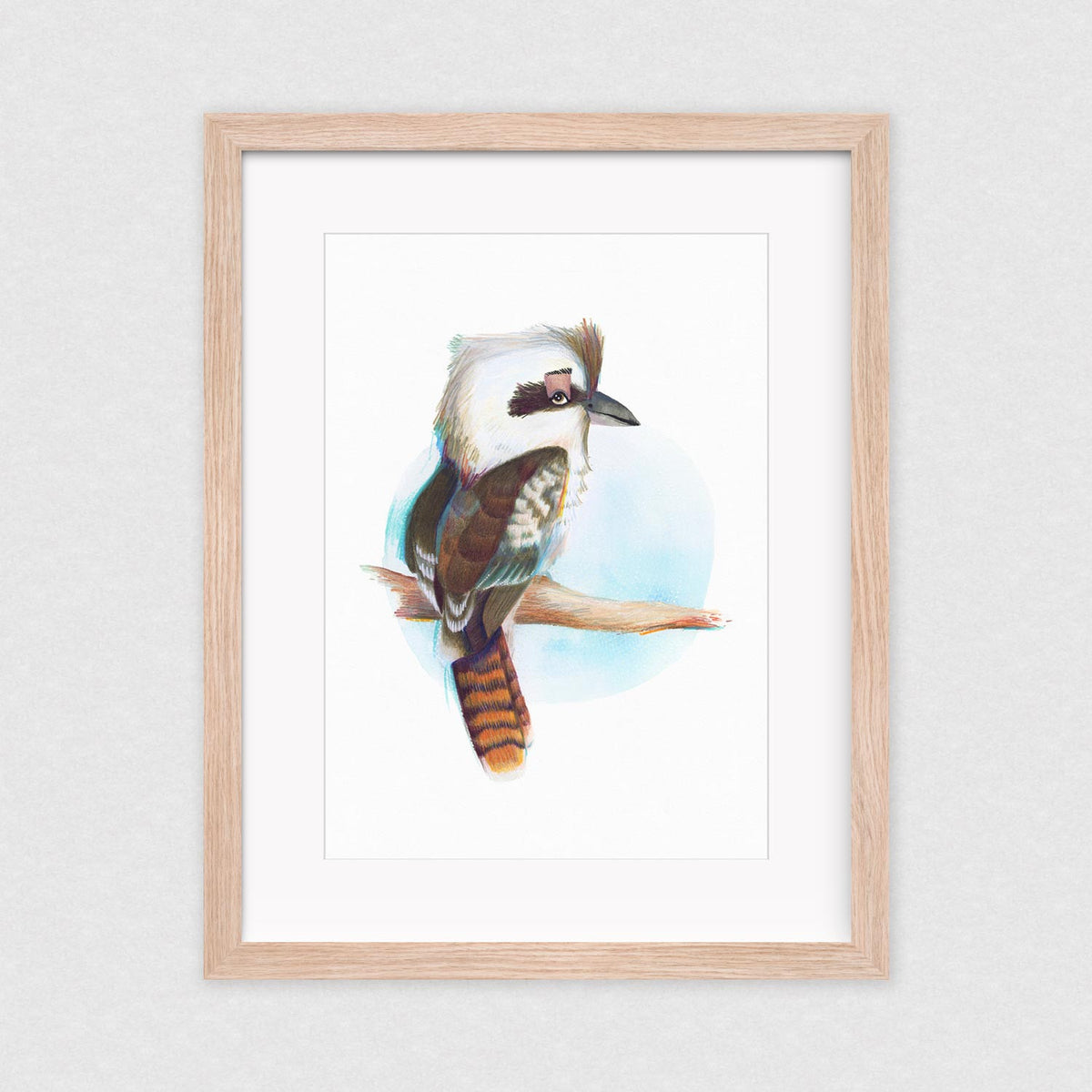 Who's Laughing now? - Framed Limited Edition Print | by Natalie Martin - Framed Prints - Throw Some Seeds - Australian gardening gifts and eco products online!