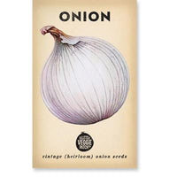 Onion (Gladalan White) Heirloom Seeds - Seeds - Throw Some Seeds - Australian gardening gifts and eco products online!
