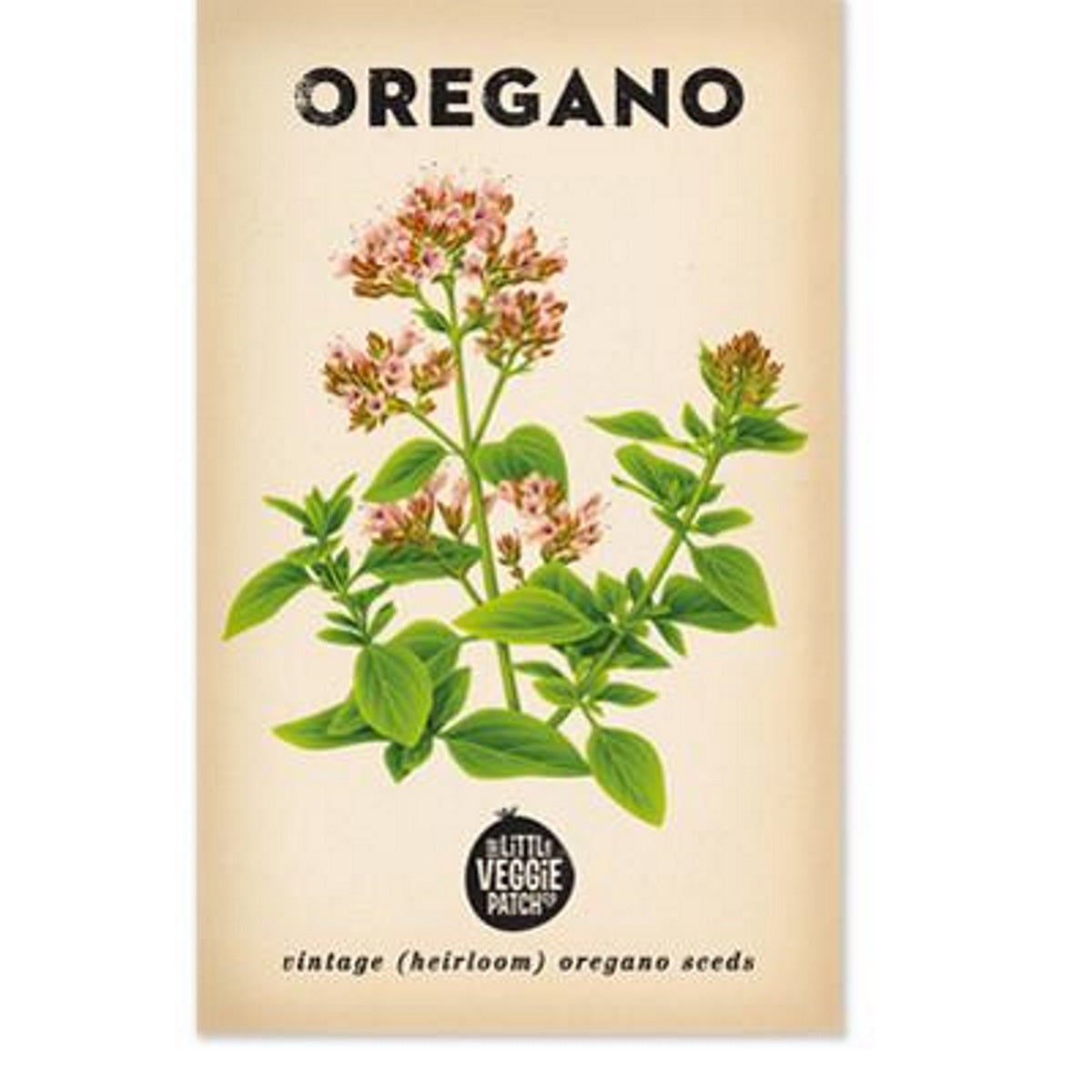 Oregano (Common) Heirloom Seeds - Seeds - Throw Some Seeds - Australian gardening gifts and eco products online!