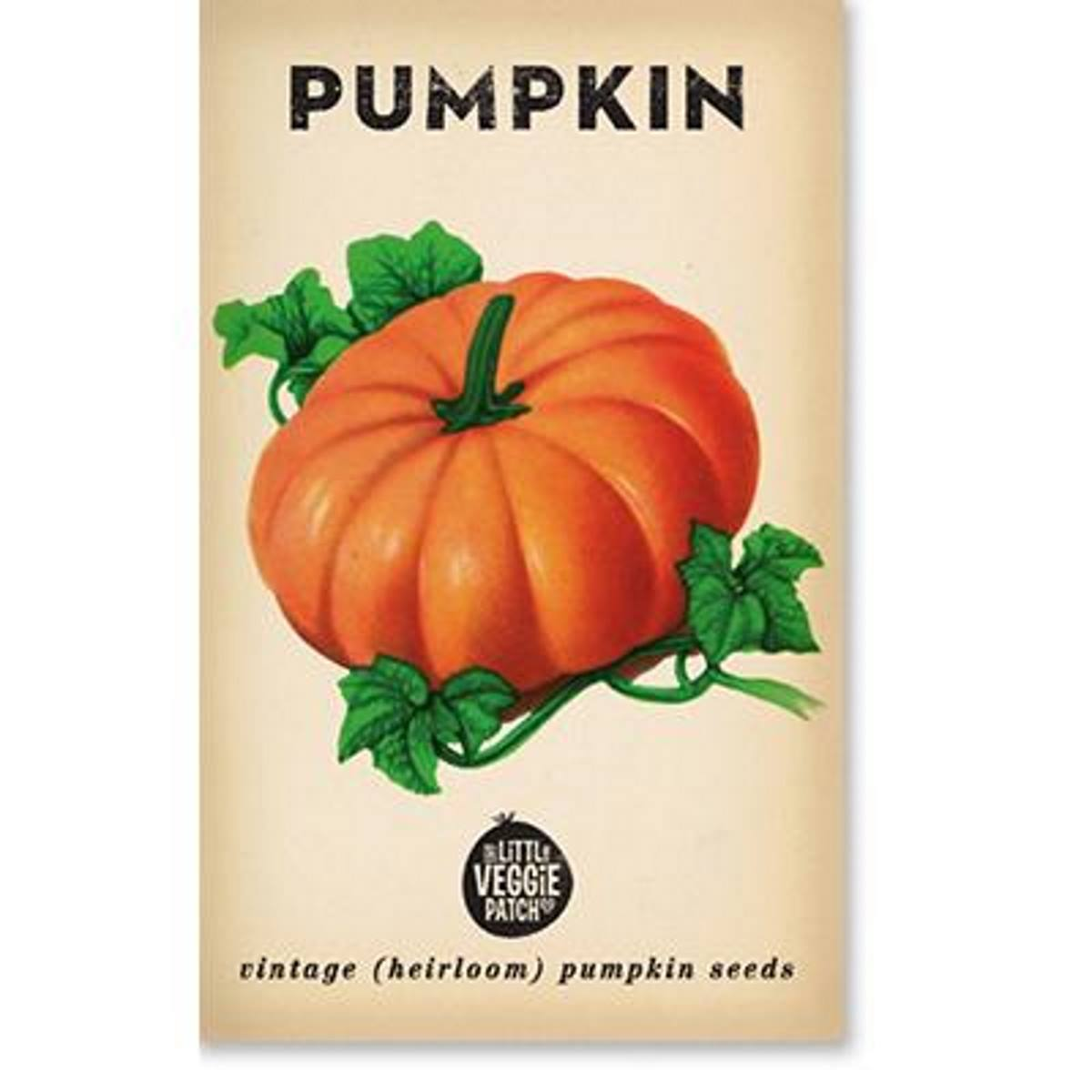 Pumpkin (Small Sugar) Heirloom Seeds - Seeds - Throw Some Seeds - Australian gardening gifts and eco products online!