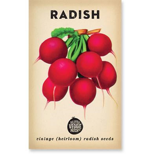 Radish (Cherry Belle) Heirloom Seeds - Seeds - Throw Some Seeds - Australian gardening gifts and eco products online!