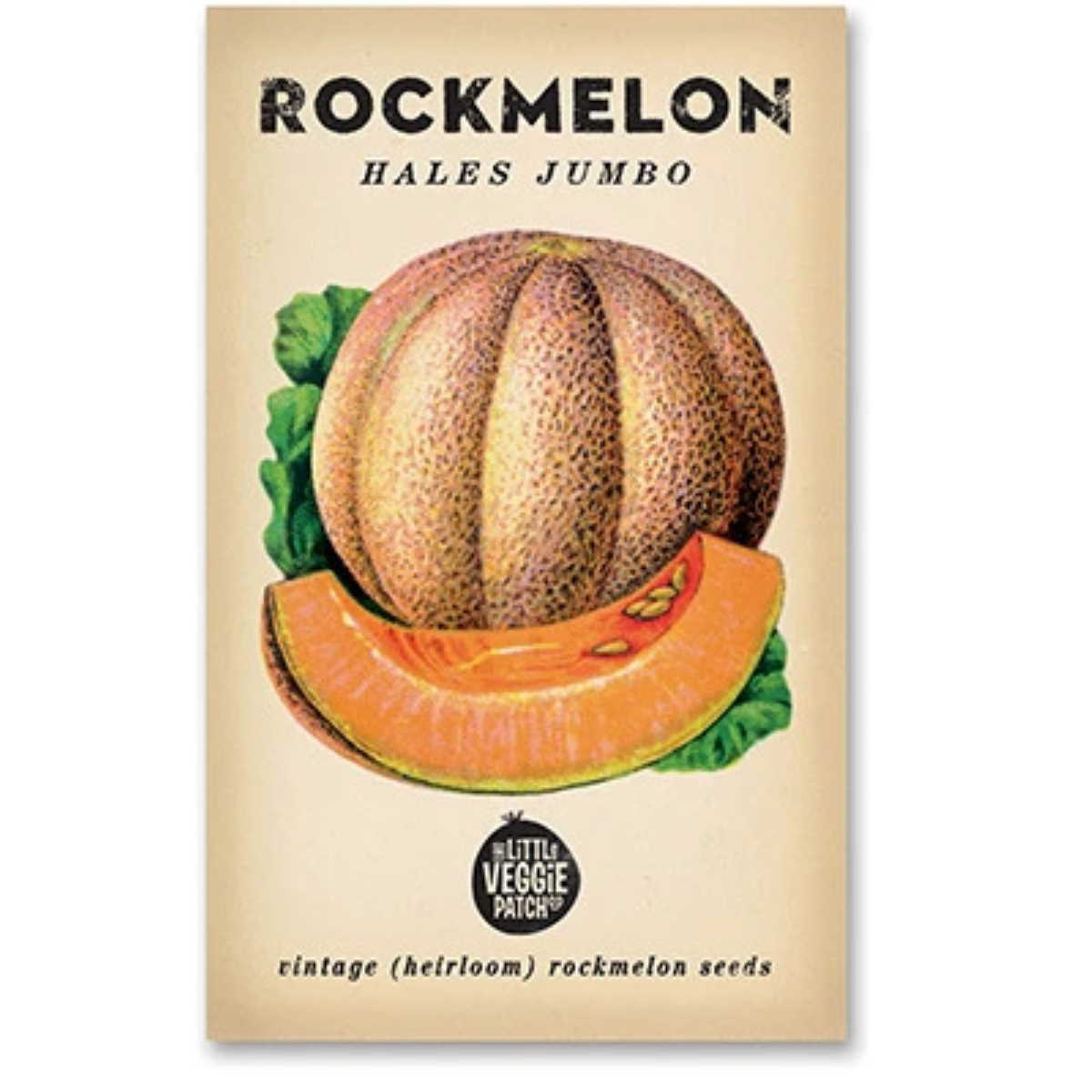 Rockmelon (Hales Jumbo) Heirloom Seeds