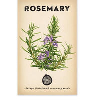 Rosemary (Rosy) Heirloom Seeds - Seeds - Throw Some Seeds - Australian gardening gifts and eco products online!