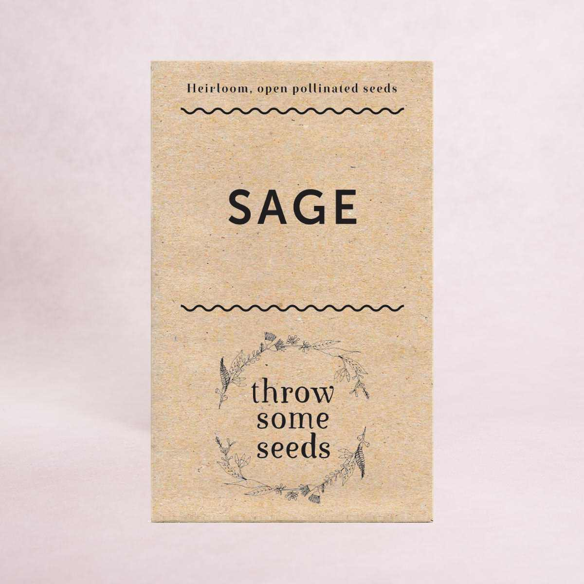 Sage Seeds - Seeds - Throw Some Seeds - Australian gardening gifts and eco products online!