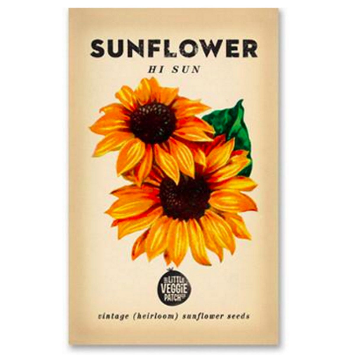 Sunflower (Hi Sun) Heirloom Seeds - Seeds - Throw Some Seeds - Australian gardening gifts and eco products online!