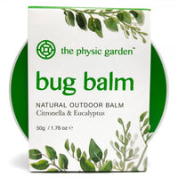 The Physic Garden Bug Balm - 50gm - Bug Balm - Throw Some Seeds - Australian gardening gifts and eco products online!